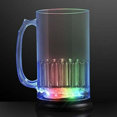 Bigmouth Light Up Led Beer Mug - 24 Ounces - Flashing Party Lights - New In Box!