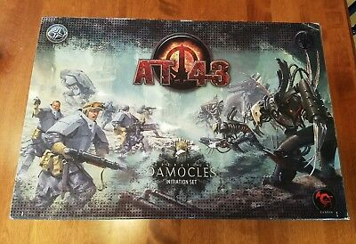 AT-43 Operation Damocles 2p starter set- Unplayed, New in Box!