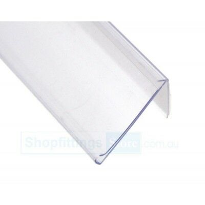 20 x Angle Data Strip Adhesive 26 x 1200 mm Clear