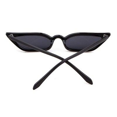 c40979702f10f Small Cat Eye Fashion Women Sunglasses Flat Top Retro Vintage Clout Goggles