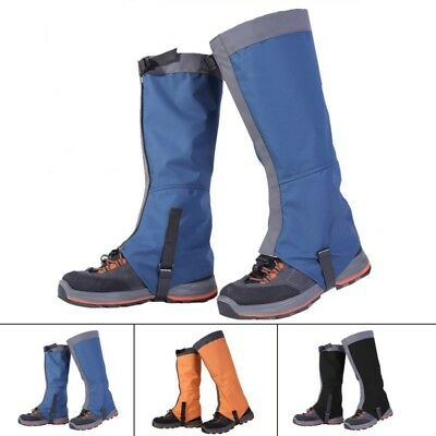 AU Outdoor Hiking Hunting Snow Sand Snake Waterproof Boots Cover Legging Gaiters