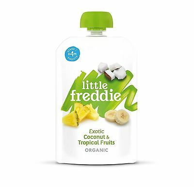 Little Freddie Exotic Coconut And Tropical Fruits 100g (Pack of 6)