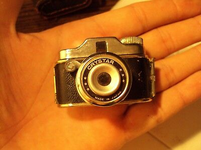 Vintage Crystar MINI MINIATURE SPY CAMERA