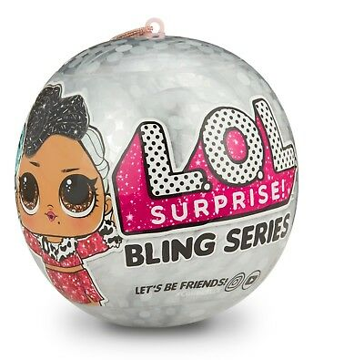 NEW LOL Surprise Bling series  HOLIDAY BIG SISTER DOLL ORNAMENT