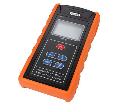 TL-560 650nm Optical Power Meter & 10mW Visual Fault Locator For Fiber Optical