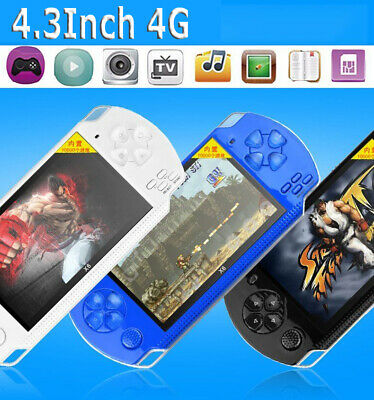 """2018 4.3"""" Portable Handheld Game Console 32 Bit Built-in 100 Free Retro Games OY"""