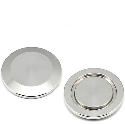 2PCS KF-16 Blind Flange Cap Stainless Steel Blank Vacuum Fitting Stopper