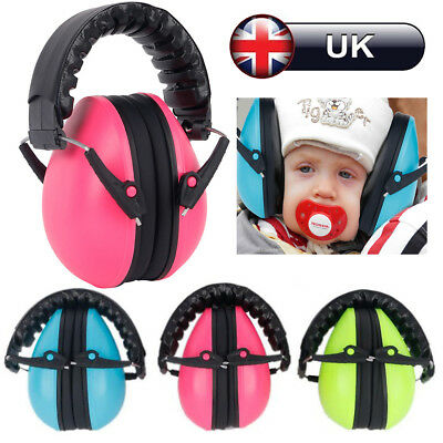 Kids Childs Baby Ear Muff Defenders Noise Reduction Sound Insulation Protection