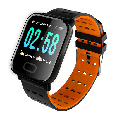 Waterproof Sport Smart Watch Blood Pressure Heart Rate Monitor for iOS Android Y