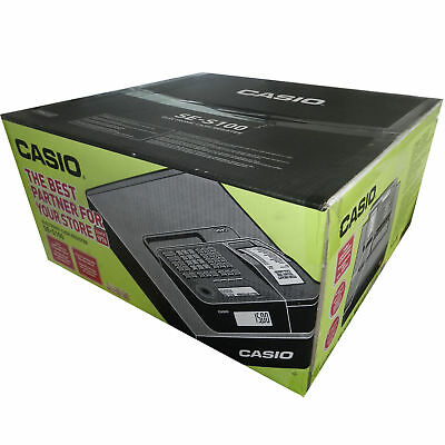 Casio Se-S100Md Cash Register Till New Sealed Box