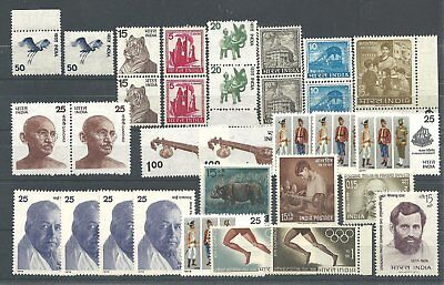 (990501) Indien  small group  modern issues  98% mint n.h.