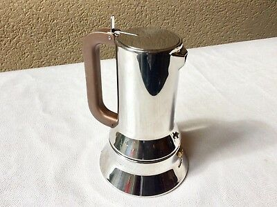 Cafetiere Italienne Alessi 9090 3 Tasses Design Richard Sapper Coffee Maker Tbe