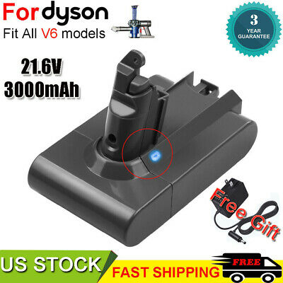 V6 Battery & Chager Adapter For Dyson V6 Absolute DC58 DC59 DC61 DC62 SV06 SV09