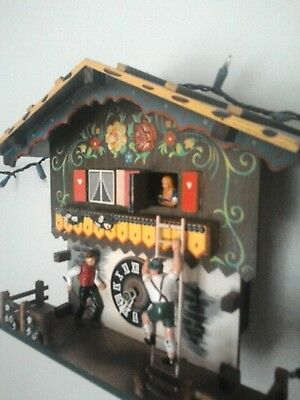 German 8 Day Chalet Cuckoo Clock