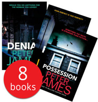 Peter James Collection - 8 Books