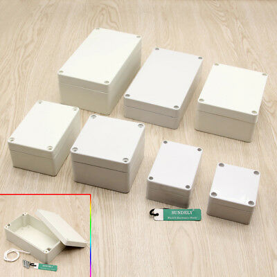 Waterproof Clear Electronic Project Box Enclosure Plastic Case Junction Box  UK