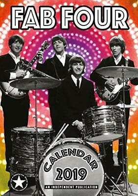 The Beatles Fab Four Wall Calendar 2019 Large A3 Poster Size