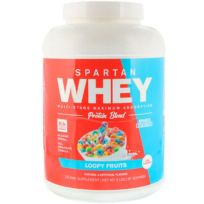 Sparta Nutrition Spartan Whey Protein Blend Loopy Fruits 5 lbs