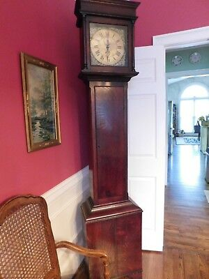Antique Grandfather Long-Case Clock - Circa 1760s - WORKING CONDITION BEAUTIFUL