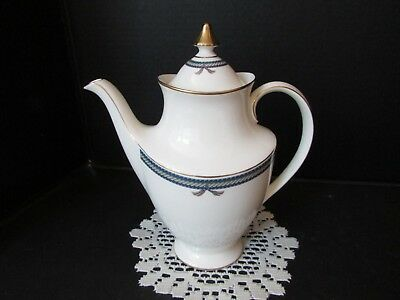 Royal Doulton Fine Bone China Coffeepot Cordeleire Made In England H5218 1992