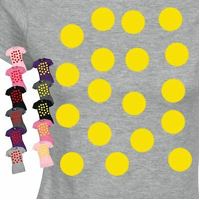 Polka Dots Spotty Day Costume Fancy Dress Present Top Inspired Women Tshirt