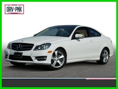 Mercedes-Benz C-Class C 250 2015 C 250 Used Turbo 1.8L I4 16V Automatic Rear Wheel Drive Coupe Moonroof