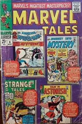 "Marvel Comics ""Marvel Tales"" 1967 Issue No.8"