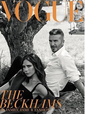 Beckhams British Vogue Magazine Rare Subscribers Edition October 2018 Issue