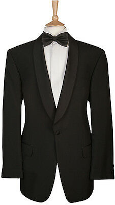 FOR DINNER CRUISE PARTY BLACK TIE 70/% OFF SLIM FIT MENS BLACK TUXEDO JACKET