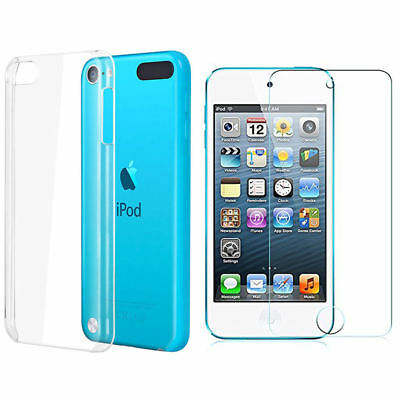 Coque rigide dure transparente pour iPod touch 6 / 6G + Film de protection