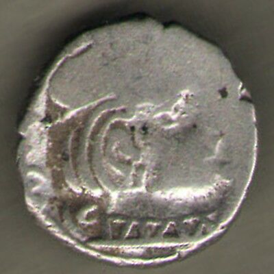 2000 Year Old Ancient Kshtrap Silver Coin Ex. Rare Coin