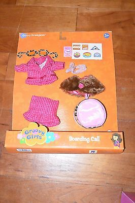 Groovy Girls Groovy Xtravaganza Boarding Call Outfit Accessory Clothes Free S&H