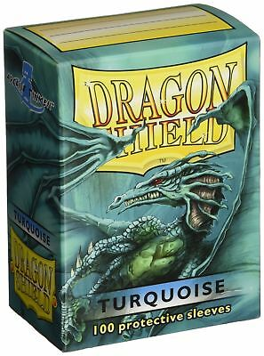 Dragon Shield Protective Card Sleeves (100 Count), Turquoise