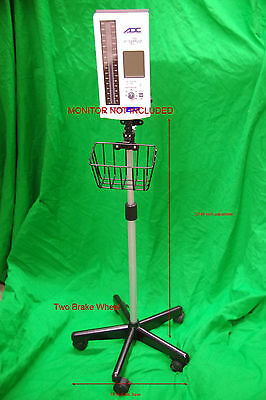 Roll stand compatible with ADC 9002M E-Sphyg 2 BP Monitor Sphygmomanometer