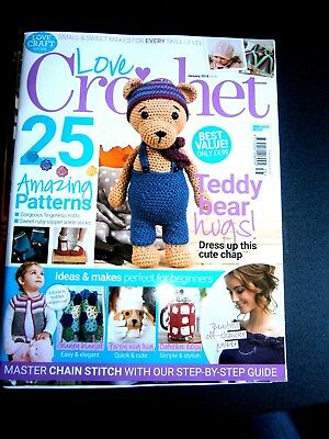 Love Crochet Magazine January 2018 (new) Issue 56