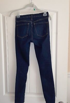 Gap girls true skinny jeans 25R Excellent condition