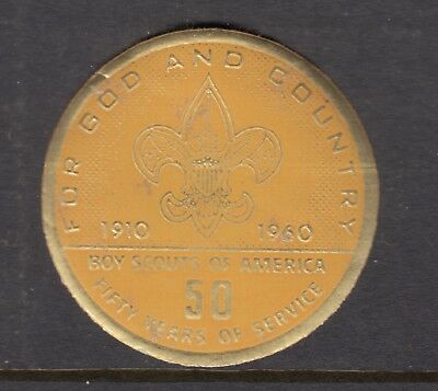 UNITED STATES 1960   SCOUTS **Disc 50 years full gum**