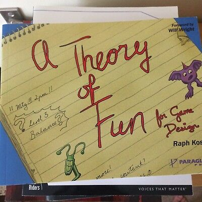 Theory of Fun for Game Design by R. Koster (Paperback, 2004)