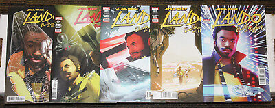 Marvel Star Wars Lando: Double or Nothing # 1-5 COMPLETE SET - Solo Prequel