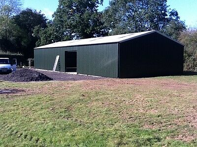 Davis structures steel buildings workshop portal frame stables barn storage
