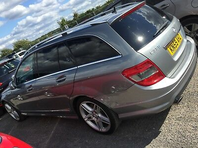 59 Mercedes-Benz C320 3.0 Cdi Sport **silver, Privacy Glass, Leather, Nav!**