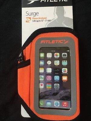 Fitletic Surge Running Armband Cellphone Case Active Gear New