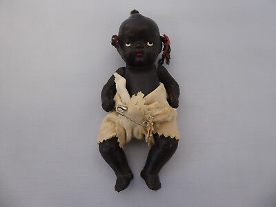 Vintage Black Americana Japan Baby Doll Pigtails