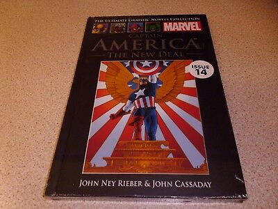 Captain America The Marvel Ultimate Graphic Novels Collection - Brand New
