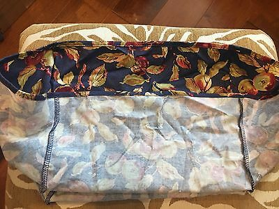 Longaberger Large Desktop Basket LINER in Early Harvest