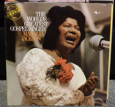 LP The World´s greatest Gospel singer Mahalia Jackson