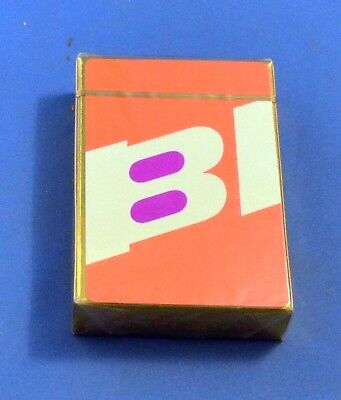 Vintage Unopened Braniff International Airlines BI Playing Cards , Sealed