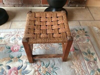Rafia Small Stool