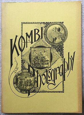 """1975 Reprint of the """"Kombi Photography"""" Instruction Booklet from 1895"""