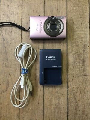 Canon PowerShot Digital ELPH SD1100 IS 8.0MP Camera FREE SHIPPING pink 8gb